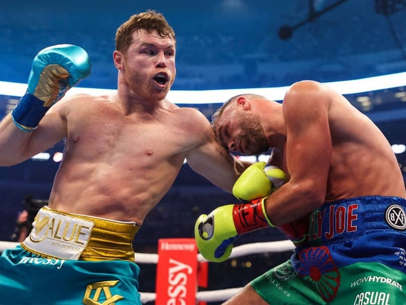 Canelo Alvarez Stops Billy Joe Saunders To Unify Boxings Super Middleweight Titles