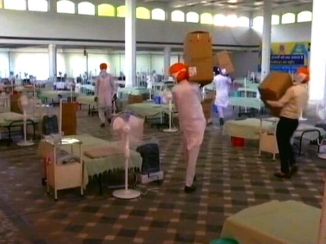 Video : COVID-19: Sikh Community Provides Oxygen <i>Langar</i> And Other Medical Support