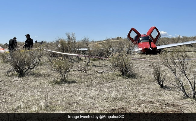 Two Planes Collide Mid-Air In Colorado, One Lands After Deploying Parachute