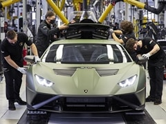 Lamborghini To Invest Over 1.5 Billion Euros Over Next 4 Years Towards Electrification