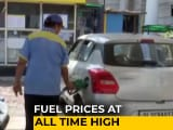 Video : Petrol, Diesel Prices Touch Fresh All-Time Highs On Wednesday
