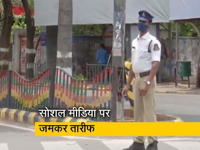 Videos : गरीब बच्चों को लगी थी भूख, ट्रैफिक पुलिस के जवान ने दे दिया अपना टिफिन