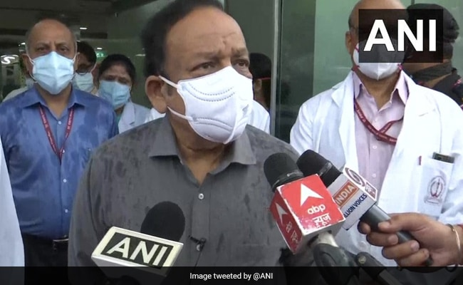 Government Aims To Conduct 25 Lakh Covid Tests Per Day: Health Minister