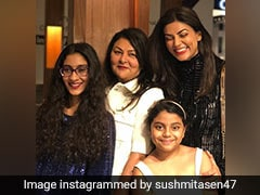 """""""Thanks For Being Divine Source Of Love"""": Sushmita Sen On Mother's Day"""