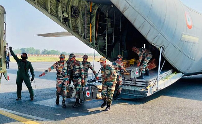 COVID-19: Army To Create 2 Field Hospitals In Patna