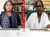 "Video : ""BJP Trying To Create Communal Clash Since They Lost,"" Mamata Banerjee Tells NDTV"