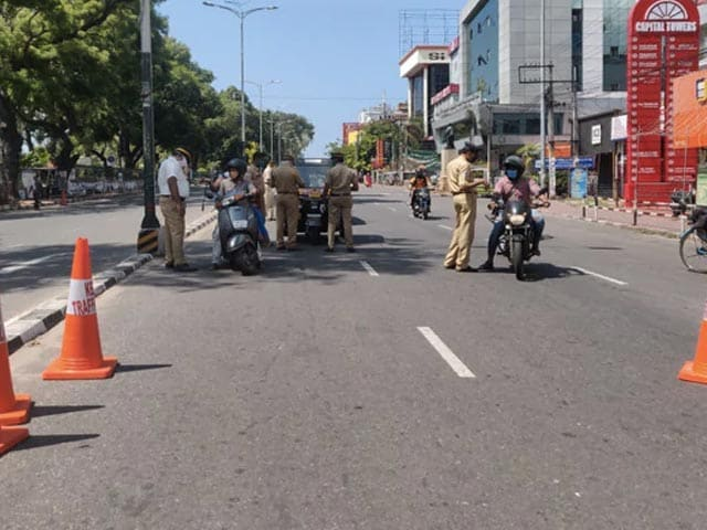 Video : Lockdown In Kerala From May 8 To 16 Amid Rising Covid Cases