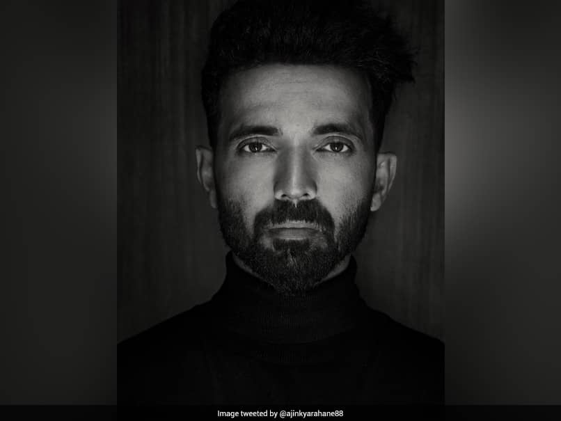 """Ajinkya Rahane Is """"Classic, Not Colourless"""" In Latest Black-And-White Pic"""