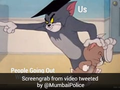 Mumbai Police's Tweet On Covid Safety Has Star Cast - Tom And Jerry