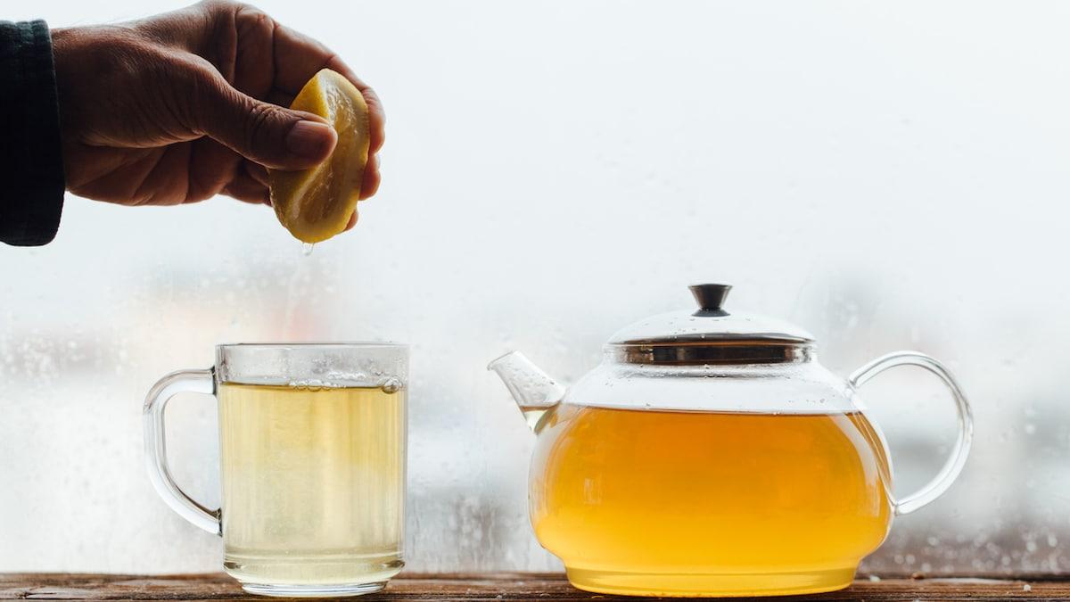 Nimbu Chai - Our Very Own Desi Lemon Tea May Help Boost Immunity Too