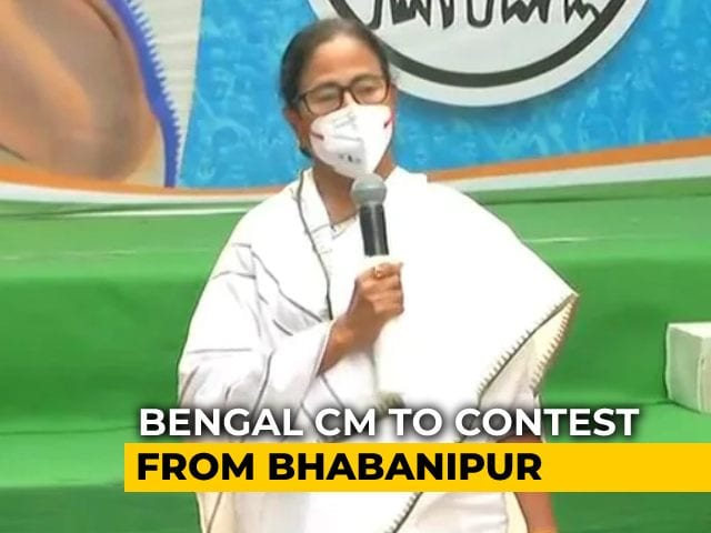 Video : Mamata Banerjee Set To Contest From Earlier Seat After Losing Nandigram