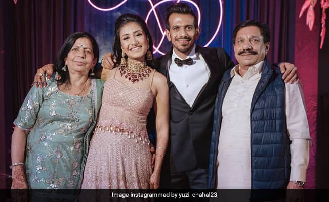 Yuzvendra Chahals father tests positive for Covid-19 cricketer  Posts Pic With Family