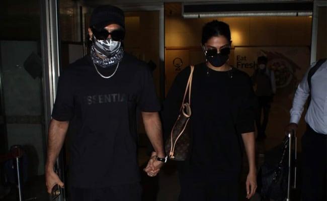 Deepika Padukone And Ranveer Singh Are Back In Mumbai. See Airport Pics