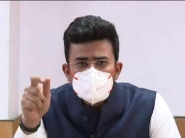 """Video : """"Bribes For Beds"""": BJP's Tejasvi Surya's Shot At Party-Controlled Civic Body"""
