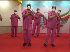 Watch: Nurses Dance To '<i>Hum Honge Kamyaab</i>' At Mumbai Hospital