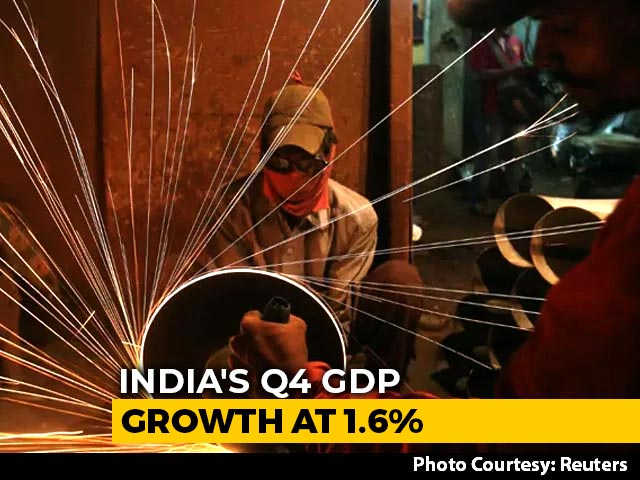 Video: Economy Contracts By Record 7.3% In 2020-21
