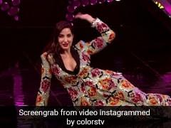 नोरा फतेही ने 'गर्मी' सॉन्ग पर जोरदार अंदाज में किया लावणी डांस, खूब वायरल हो रहा Video