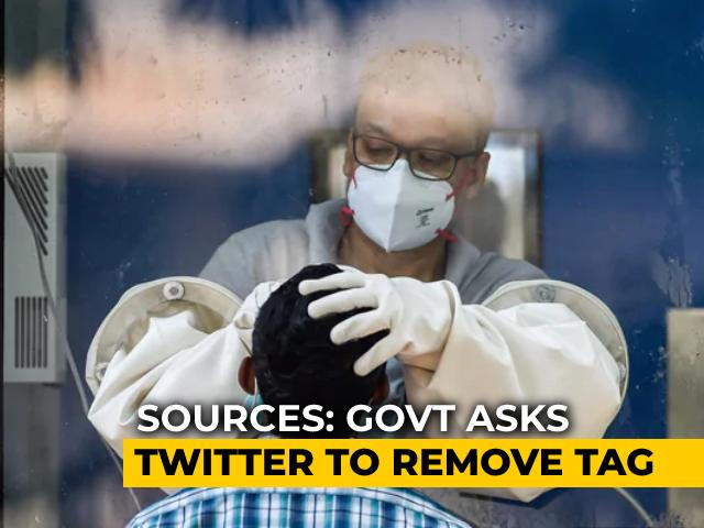 """Video : Centre Asks Twitter To Drop """"Manipulated"""" Tag For Toolkit Tweets: Sources"""