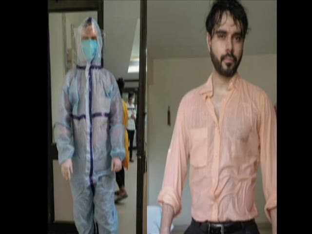 Video : Sweat-Drenched After Hours In PPE Suit, This Doc's Photo Went Viral