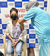 Riteish And Genelia Get Their First Vaccine Shots
