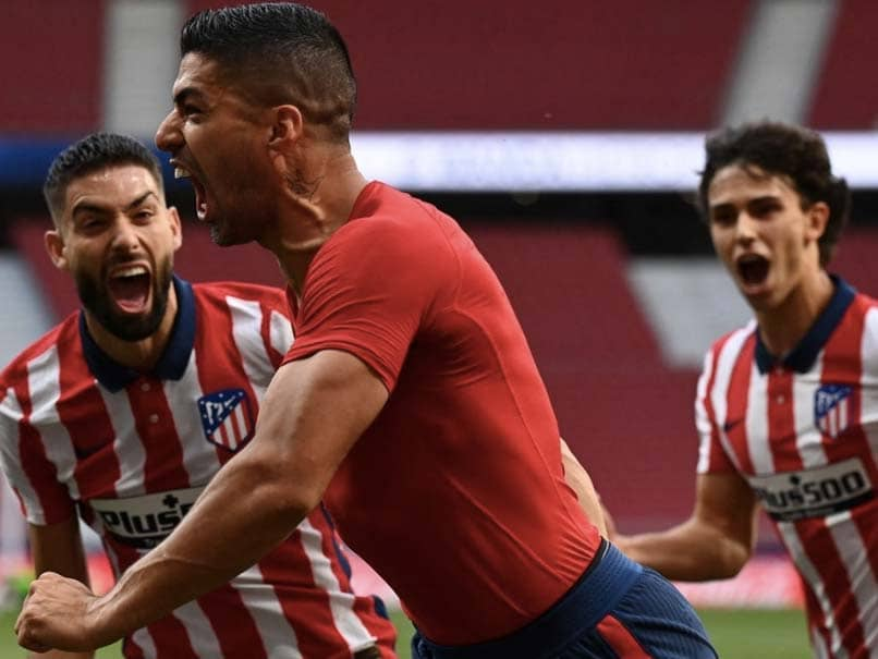 La Liga: Late Luis Suarez Winner Keeps Atletico Madrid On Top With One Game Left