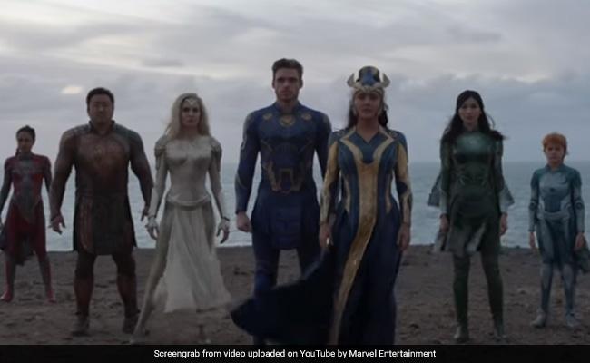Eternals Trailer: Angelina Jolie And Salma Hayek Lead New Superhero Team. Bonus: A Bollywood Dance
