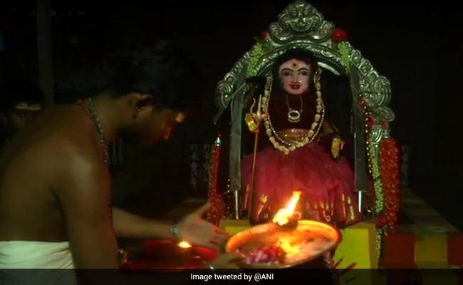 A Temple For 'Corona Devi' In Tamil Nadu