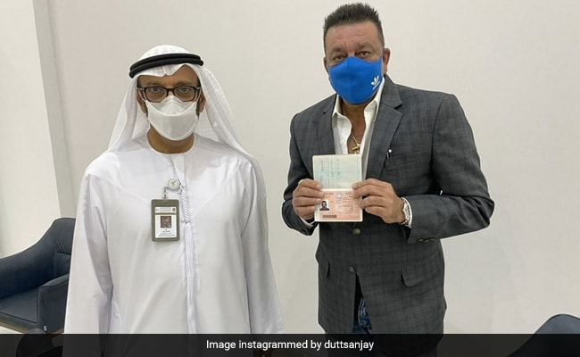 Sanjay Dutt, the first Indian actor to get a UAE Golden Visa, daughter Trishala expressed her happiness by commenting