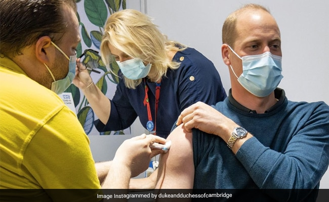 Prince William Got COVID-19 Jab, But It Was His Biceps That Caught Internet?s Eye