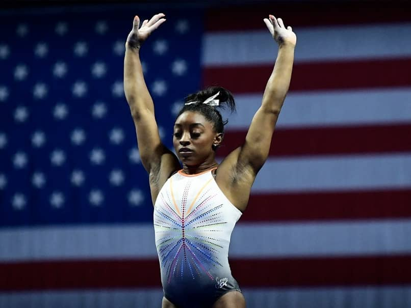 Simone Biles Returns To Competition With Historic Vault