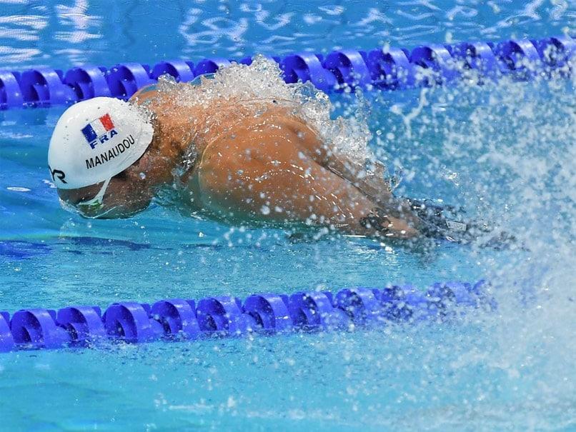 Former Olympic Freestyle Champion Florent Manaudou Doing Tokyo Hard Yards