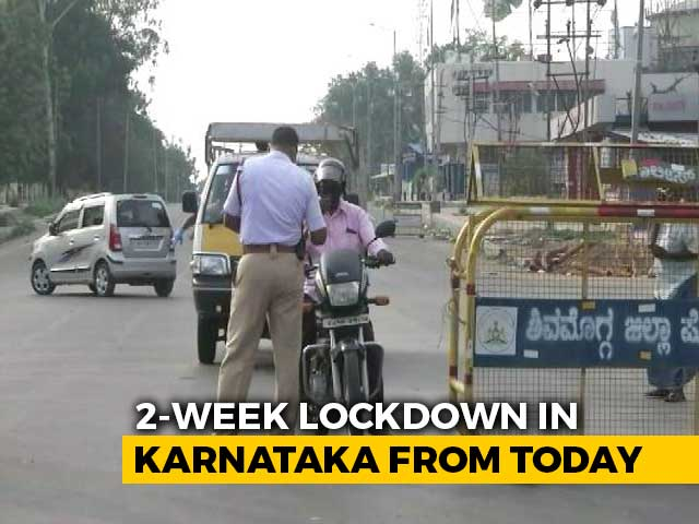 Video : Karnataka Logs Nearly 48,000 New Covid Cases, 490 Deaths