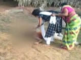 Video : Teen Tries To Give Water To Covid Positive Father In Andhra, Stopped By Mother