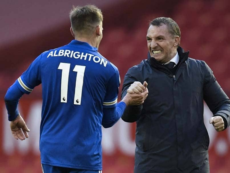 Premier League: Leicester City Boss Brendan Rodgers Confident FA Cup Winners Will Seal Champions League Spot