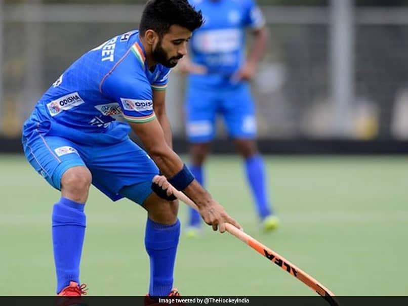 "Indian Hockey Captains Manpreet Singh And Rani Rampal ""Focused"" Ahead Of Tokyo Olympics"
