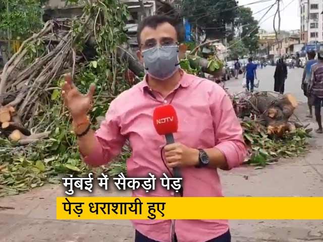 Video : ताउते तूफान चला गया लेकिन मुंबई में छोड़ गया तबाही के निशान, बता रहे हैं सुनील सिंह