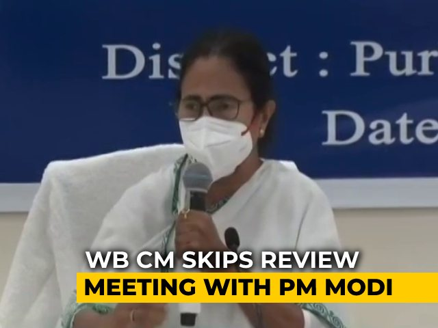 "Video : ""Callous, Arrogant"" Mamata Banerjee Made PM Wait 30 Minutes: Government"