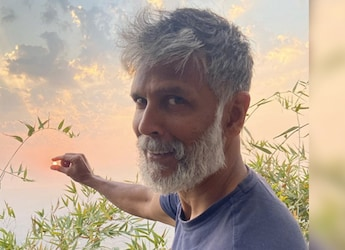 Milind Soman Shares A Glimpse Of Pumpkins Grown In His Home Garden