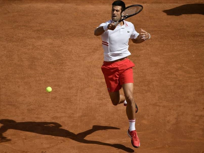 Novak Djokovic Sweeps Into Italian Open Quarter-Finals In Front Of Roman Crowd