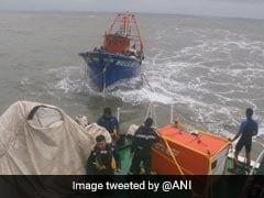 Cyclone Tauktae: Indian Coast Guard Rescues 15 Fisherman Off Goa Coast