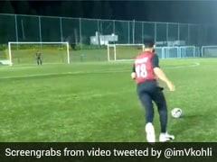 "Watch: Virat Kohli's Epic Reaction To His Own ""Accidental Crossbar Challenge"""