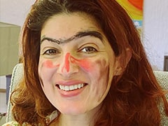 """""""Another Day, Another Makeover"""" Of Twinkle Khanna By The Usual Suspect"""