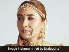 Jwala Gutta's Bridal <i>Saree</i> Is Every Traditional Bride-To-Be's Dream Come True