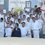 Lebanon Chef Makes Largest Serving Of Hummus- Check Out