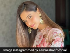 Aamna Sharif Is Prettier Than A Bouquet For Eid In Her Floral <i>Anarkali </i>