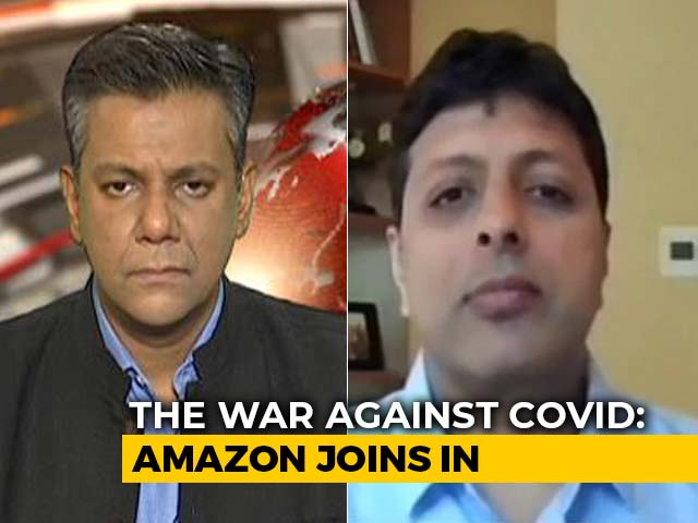 Video : How Amazon Is Helping Save Lives In India