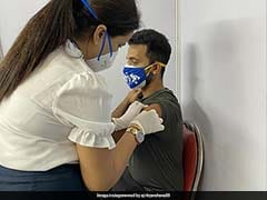 Ajinkya Rahane And Wife Radhika Get First Dose Of COVID-19 Vaccine