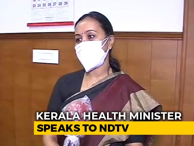"""Video : """"Kerala In Desperate Need Of Vaccines"""": Health Minister Veena George To NDTV"""
