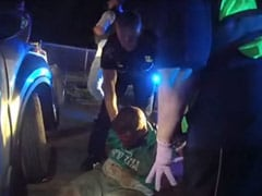 """I'm Afraid"": US Cops Seen Tasing Black Man Before Death In New Video"