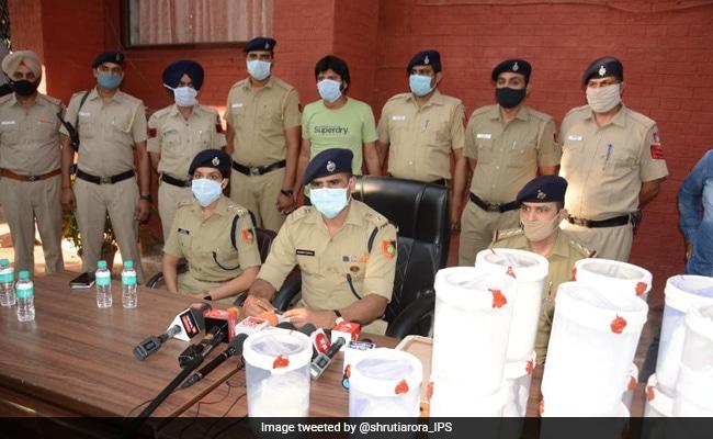 Chandigarh Man Tries To Send Drugs Worth 100 Crore To Australia, Arrested
